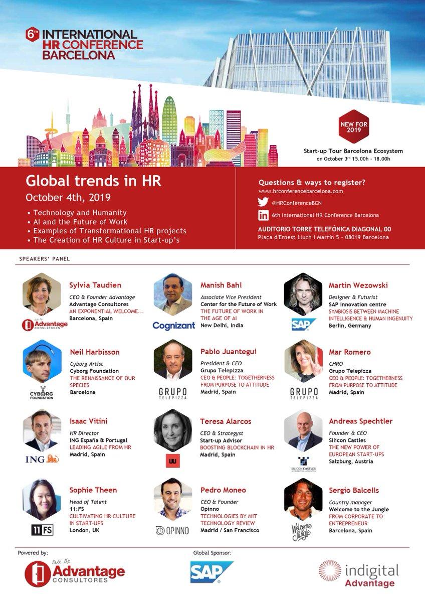 International HR Conference Barcelona (@HRConferenceBCN