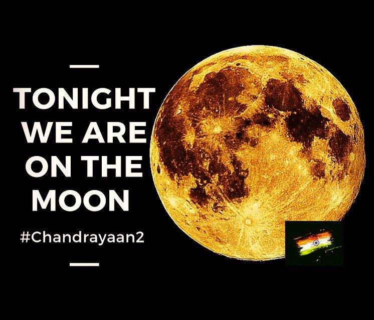 #Chandrayaan2  Jai Hind 🇮🇳