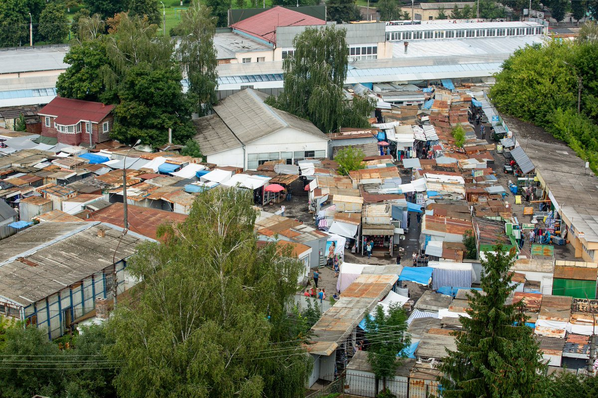 """""""Камнями нах#й ті трактора!"""" - у Луцьку вночі розпочалося знесення контейнерів на Центральному ринку - Цензор.НЕТ 4077"""