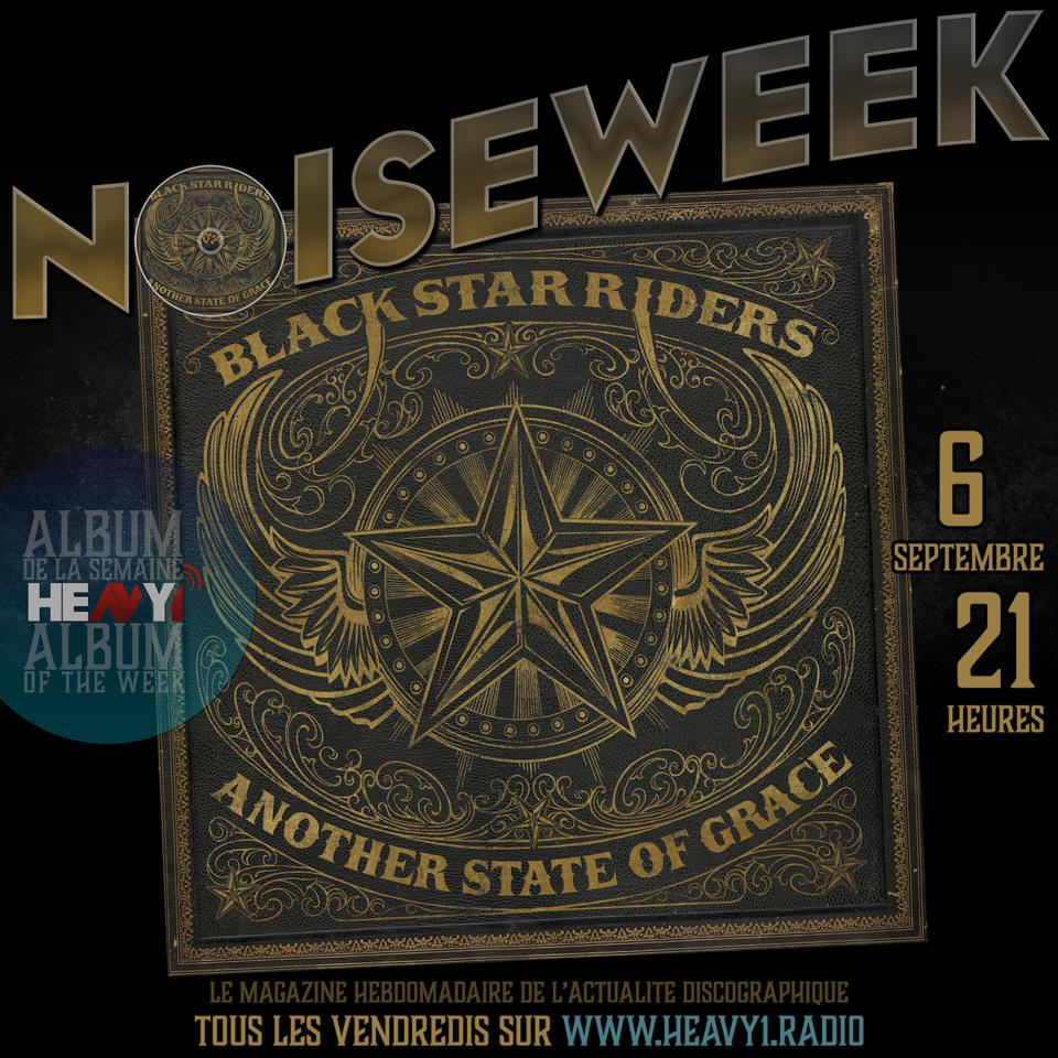 Ce soir dans #Noiseweek sur @Heavy1Radio avec @BlackStarRiders l'album de la semaine, mais aussi @WageWar #TransportLeague @livsin @alterbridge @Status_Quo @sdd1061 (Stevie D.) & @RevDaddyLove #Vitja @SWStheband @SonataArctica @KloneOfficial https://t.co/JMae0ihQHd https://t.co/IuVflH7iC9