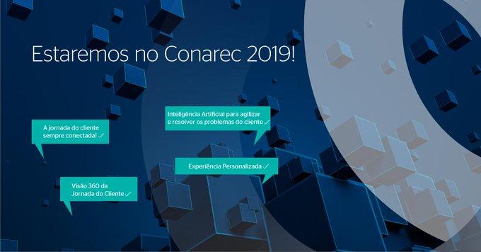 Nos dias 10 e 11 de setembro marcaremos presença no Conarec 2019, que acontecerá...