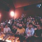 Durante la presentación 💫 #papacohiba #salaequismadrid