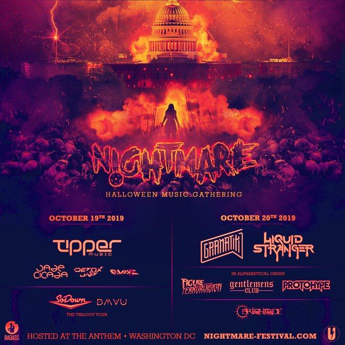 Nightmare Festival lineup