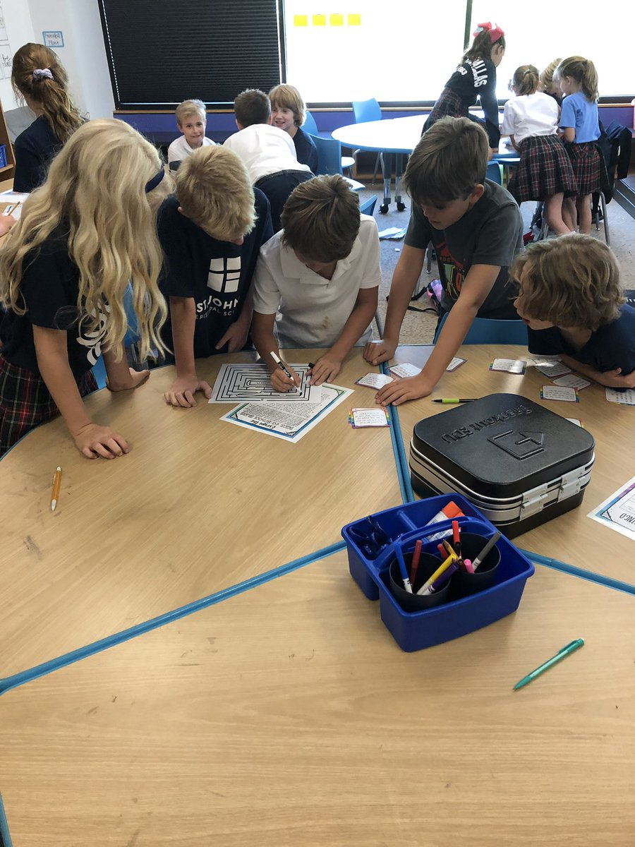 Teamwork makes the DREAM work!! First @breakoutEDU and it was a huge success! 🤩 #sjesdallas