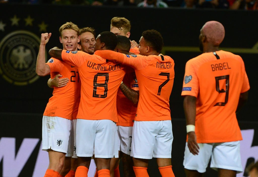 Germany 2-4 Netherlands Video Highlights - Euro 2020 Qualifiers - 6.9.2019