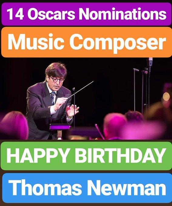HAPPY BIRTHDAY  Thomas Newman