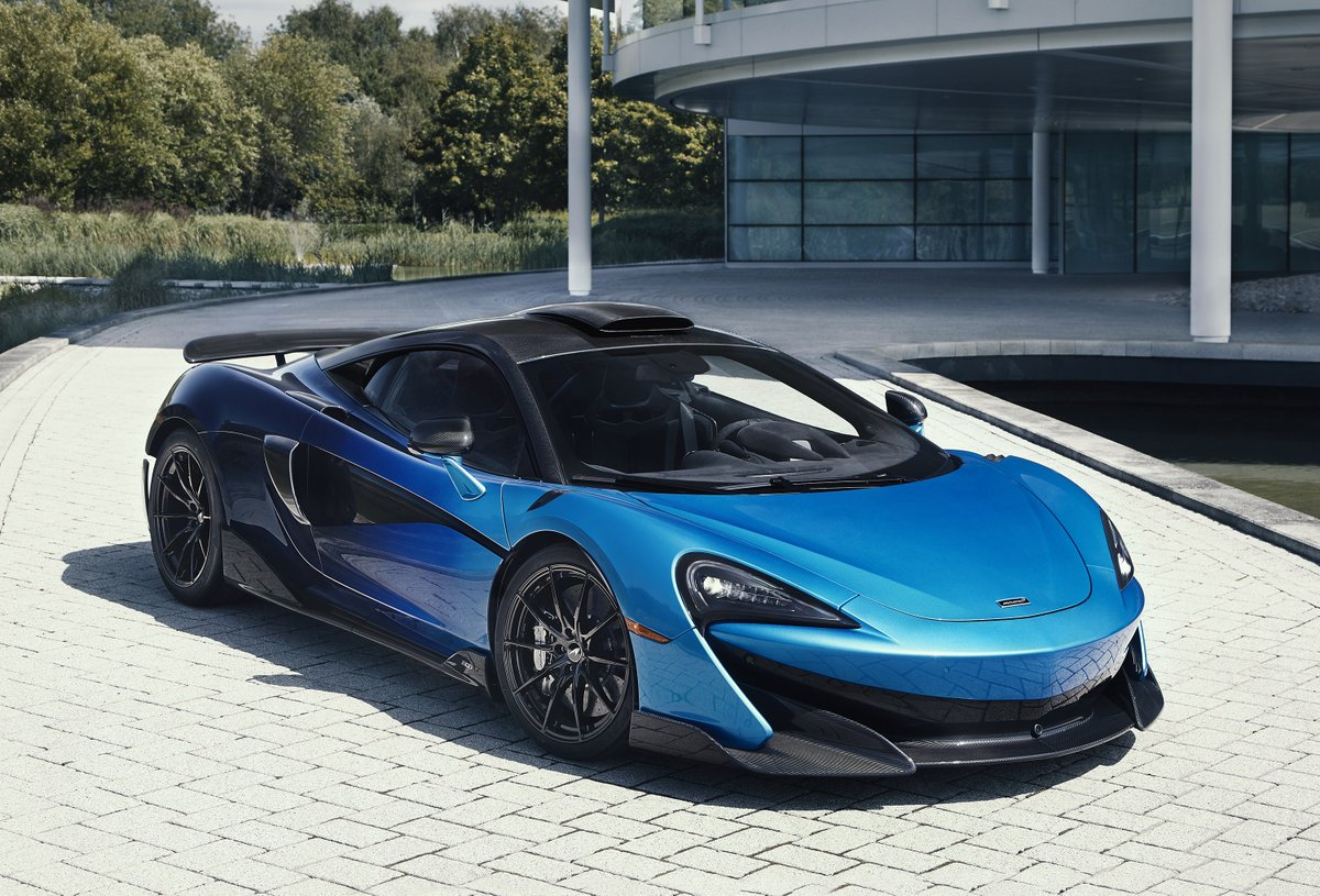 Introducing the stunning 600LT by MSO commissioned by McLaren Toronto. With a paint scheme inspired by the tail of a comet, McLaren Special Operation's creation utilises the 'Coriolis' paint blend as seen on the 720S Spider unveiled at the Geneva Motor Show 2019.