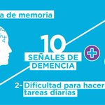 Image for the Tweet beginning: #DíaMundialdelAlzheimer #worldalzmonth #hablemossobredemencia   No podemos