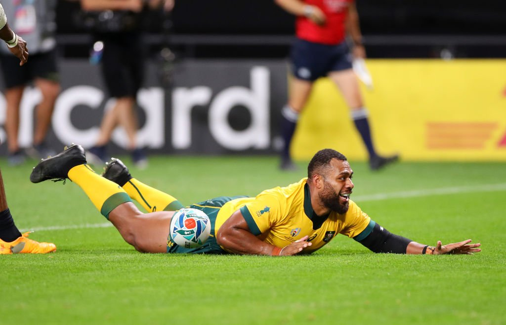 test Twitter Media - Australia ran in four second-half tries to prevent a first defeat against Fiji in 65 years.  Report: https://t.co/DJkclAC06A  #bbcrugby #AUSvFIJ #RWC2019 https://t.co/FtGQCCoeMw