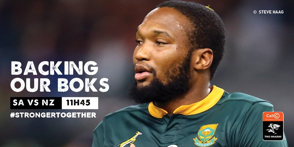 We wish @Springboks all the best as they take on the @AllBlacks in their first match of the pool stage in the Rugby World Cup 🇿🇦 #StrongerTogether