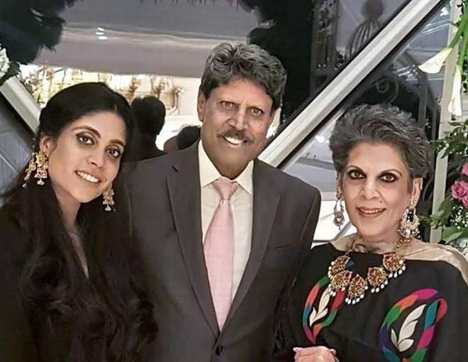 Happy family of our legend!#legend #family #legendforareason #cricket#kapildev #happyfaces #loveforcricket #fanpage #fanclub #allrounder
