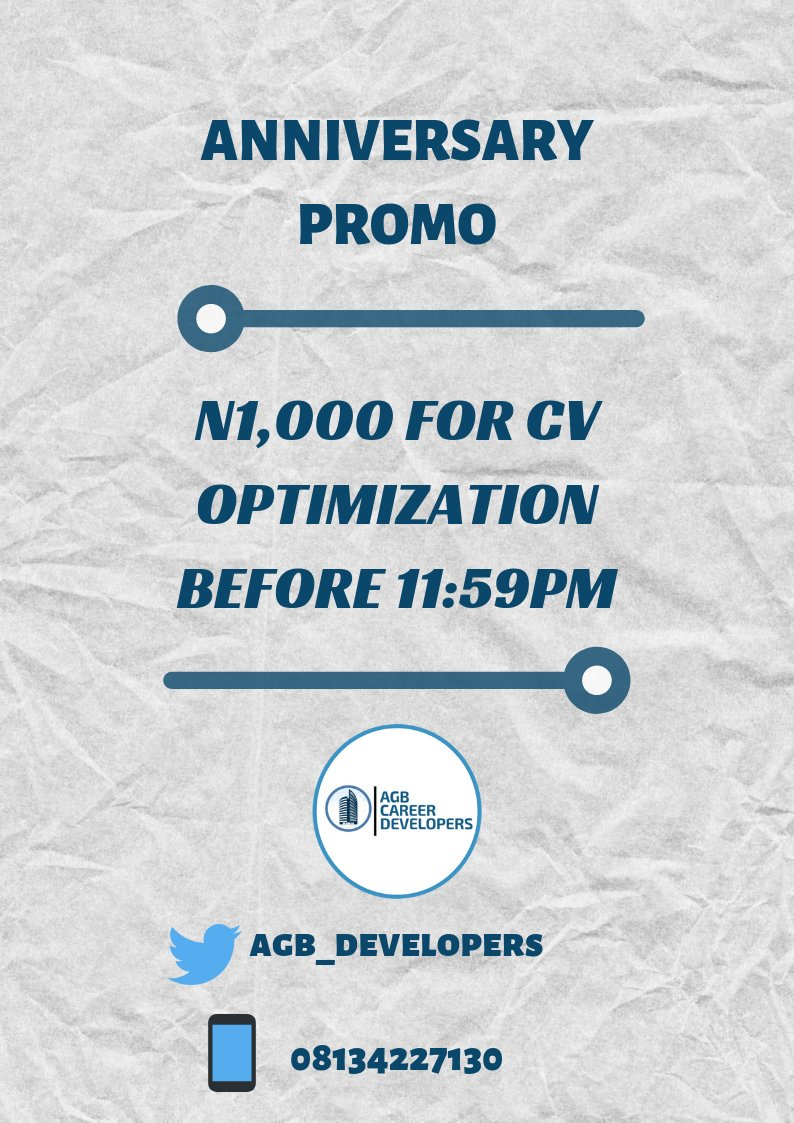 Job postings, CV and Cover letter Writers (@agb_developers ...