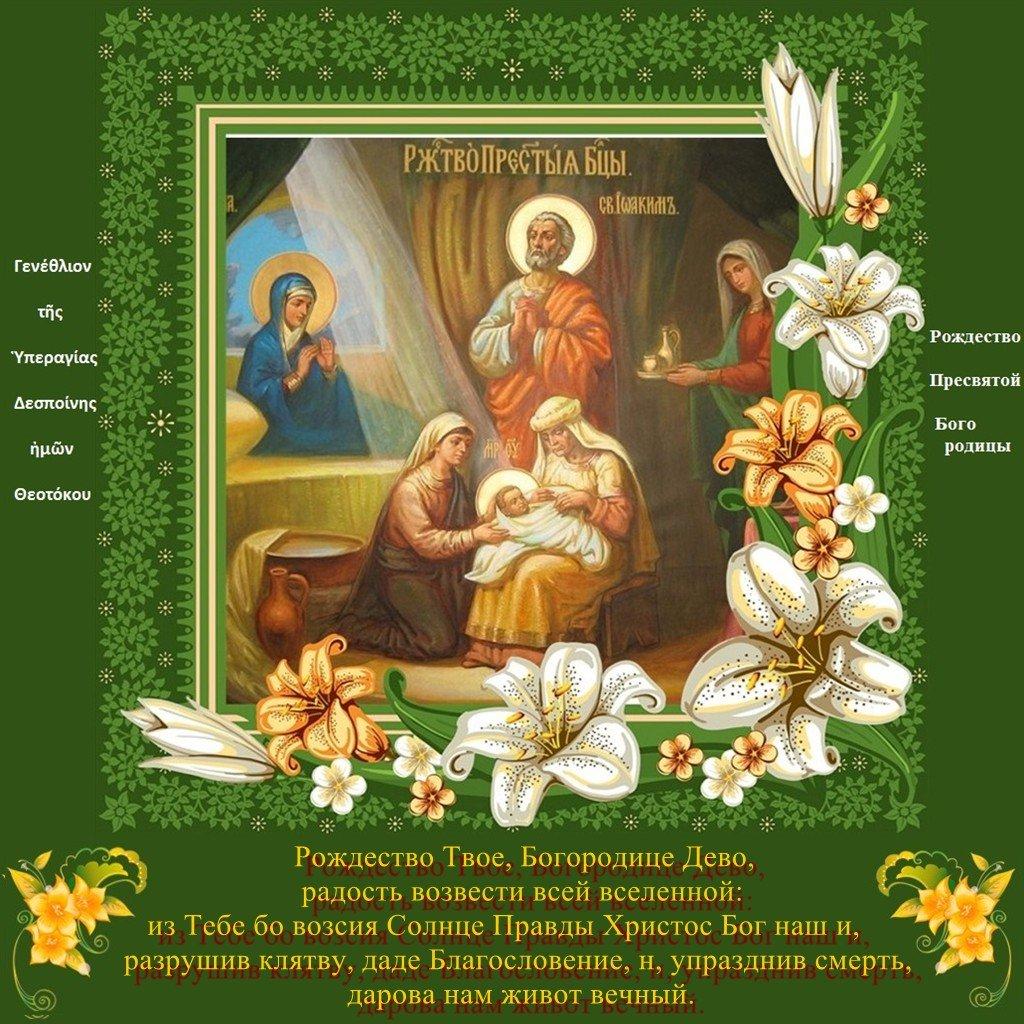Картинки к празднику рождества пресвятой богородицы, фото кота