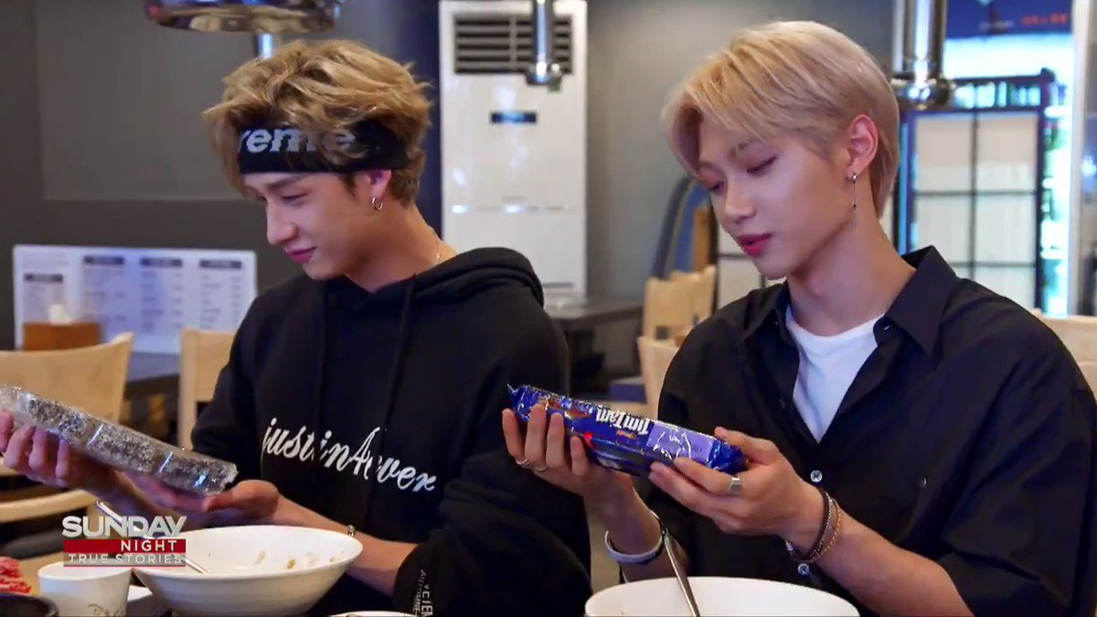 Lamingtons and Tim Tams and Vegemite - oh my! The Aussie members of #KPop supergroup @Stray_Kids receive a care package full of food from back home from @MattDoran22. For even more delicious treats, make sure you join us Sunday at 9pm on @Channel7.