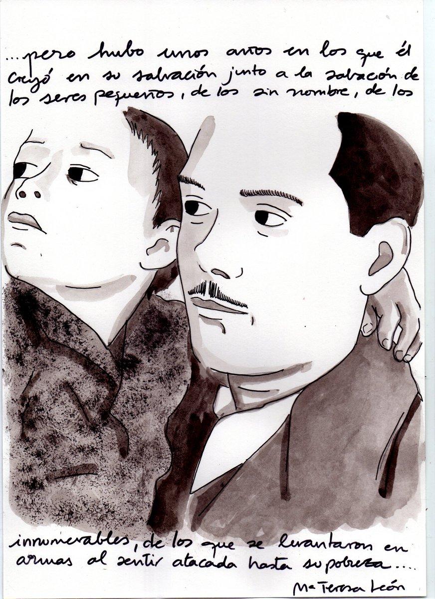 Tal día como hoy nació en #Sevilla el gran poeta #LuisCernuda en 1902. Un poeta insobornable...pero hubo unos años en los que él creyó en su salvación junto a la salvación de los seres pequeños, de los sin nombre #80exiliorepublicano @FelipeAlcarazM @jjtellezrubio @luciasocam