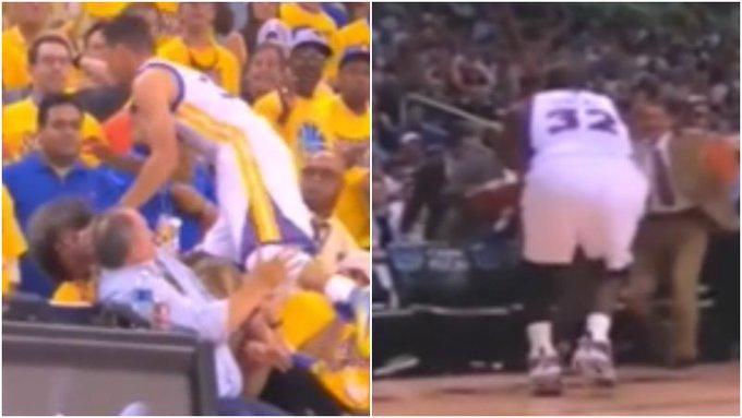 【影片】NBA的救球有兩種,一種是別人的一種是歐尼爾的!你見過清場嗎?