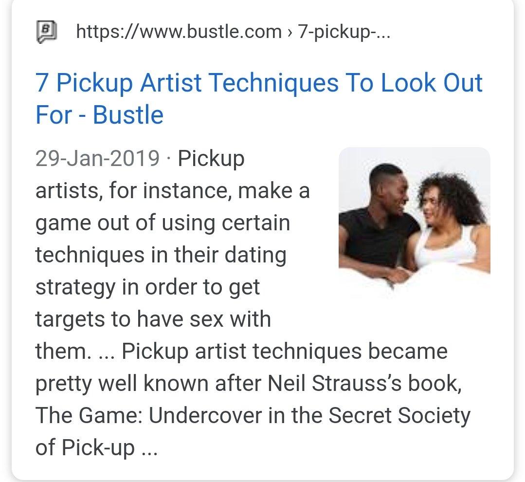 Pick-up Artist online dating
