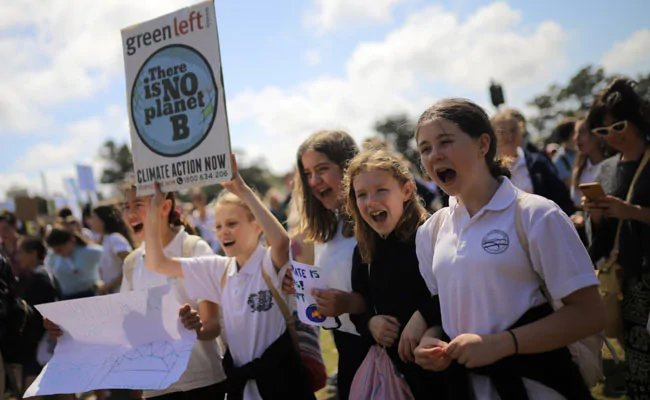Millions skip schools to unite for global protests on #ClimateChange https://www.ndtv.com/world-news/global-climate-strike-millions-skip-schools-in-worldwide-protests-2104779…