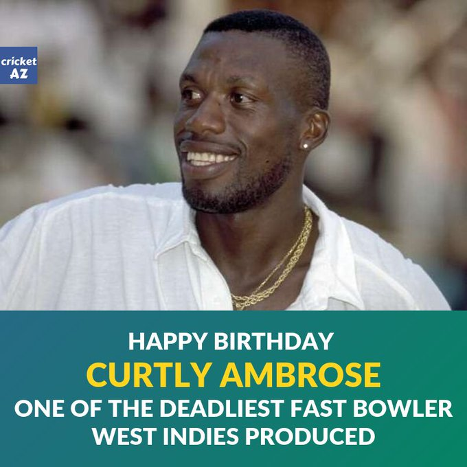 Happy Birthday Curtly Ambrose