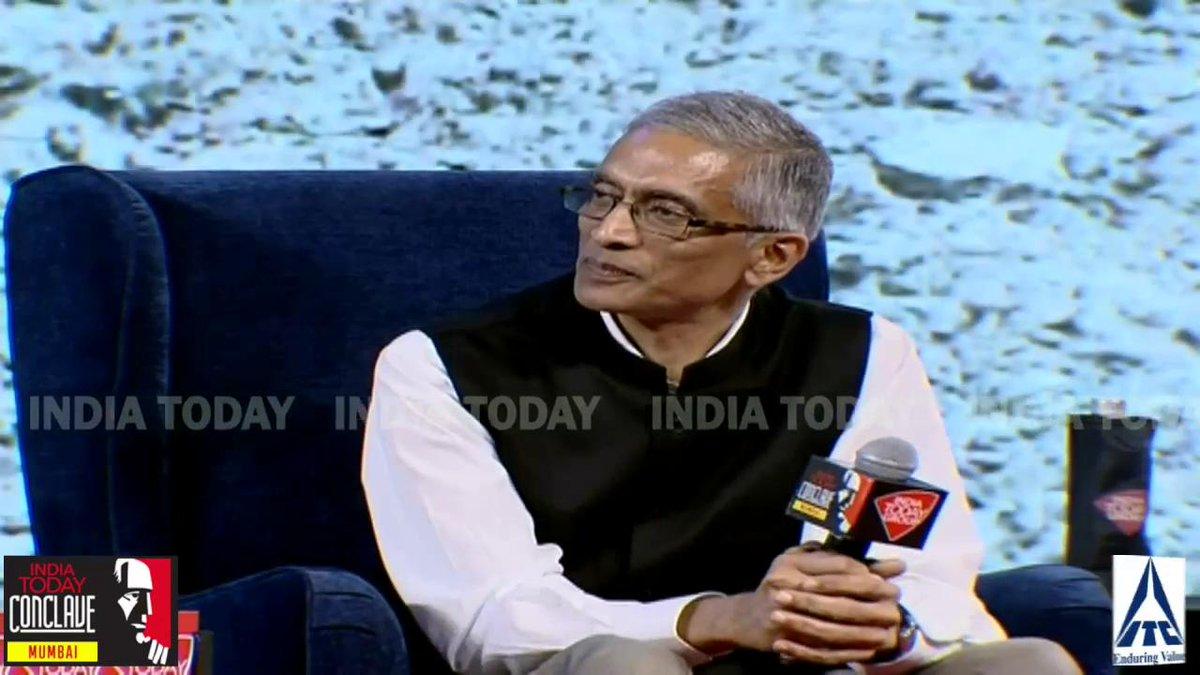 गंगा नदी के जल की गुणवत्ता में आया है काफी सुधार: @paramiyer_, सचिव, जल शक्ति मंत्रालयलाइव: http://bit.ly/MumbaiConclave19…(@rajchengappa)