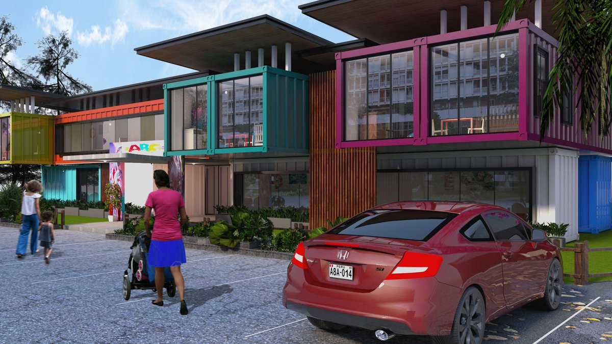 A visualization for a container creche in Abuja. Courtesy, your boy and the IOU team. #architecture <br>http://pic.twitter.com/x9ptnYxzts