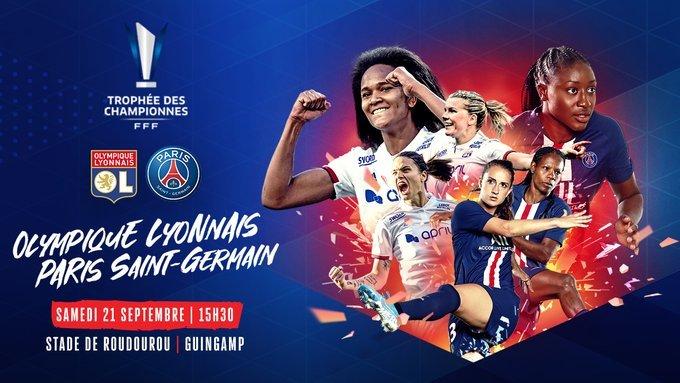 🇫🇷 Renard 🆚 Paredes 🇪🇸🏴#LB2 🆚 Glas 🇸🇪🇫🇷 Henry 🆚 Formiga 🇧🇷🇩🇪 Marozsan 🆚 Dabritz 🇩🇪🏴 Parris 🆚 Diani 🇫🇷🇫🇷 Le Sommer 🆚 Huitema 🇨🇦🇳🇴 Hegerberg 🆚 Katoto 🇫🇷💪 We're pumped to see #FIFAWWC stars & @OLfeminin vs @PSG_Feminines in the Trophée des Championnes 🏆