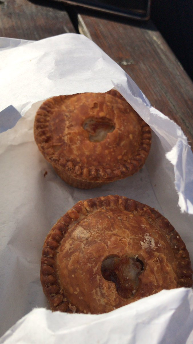 Next stop Huntley's ! Emergency pork pies @rachel_sansbury @donna_peat13 @lizzybrigid https://t.co/43wDT7uu2Y