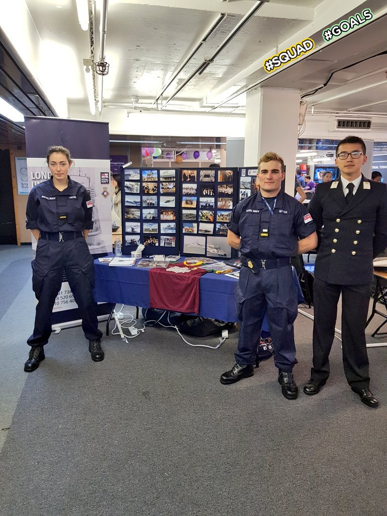 Interested in a life without limits? Come down and meet us @kclsu Freshers Fair to learn more about the URNU and how you can get involved!! @DartmouthBRNC @royalnavy #Freshers2019 #KCLfreshers #Navy
