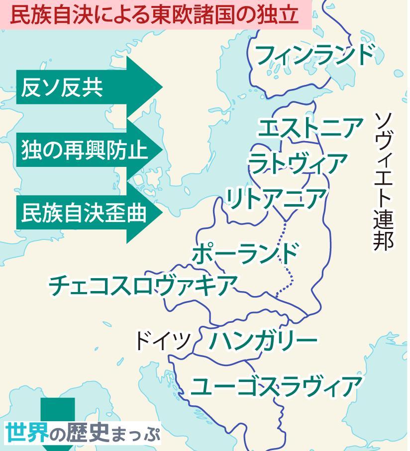 """世界の歴史まっぷ on Twitter: """"東欧・バルカン諸国の動揺 第一次大 ..."""
