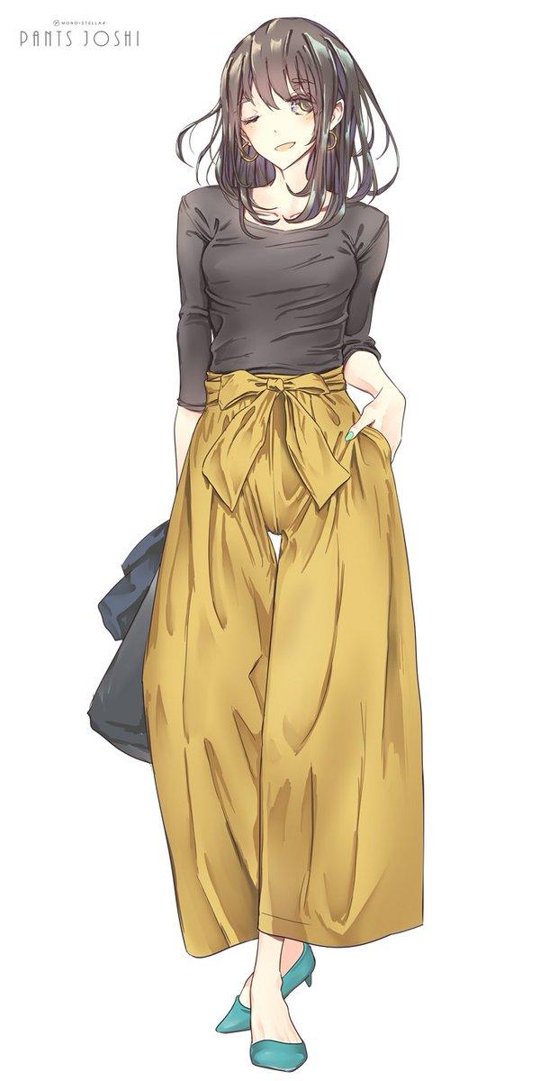 こういう服装のお姉さん、みんな好きだよなぁ?