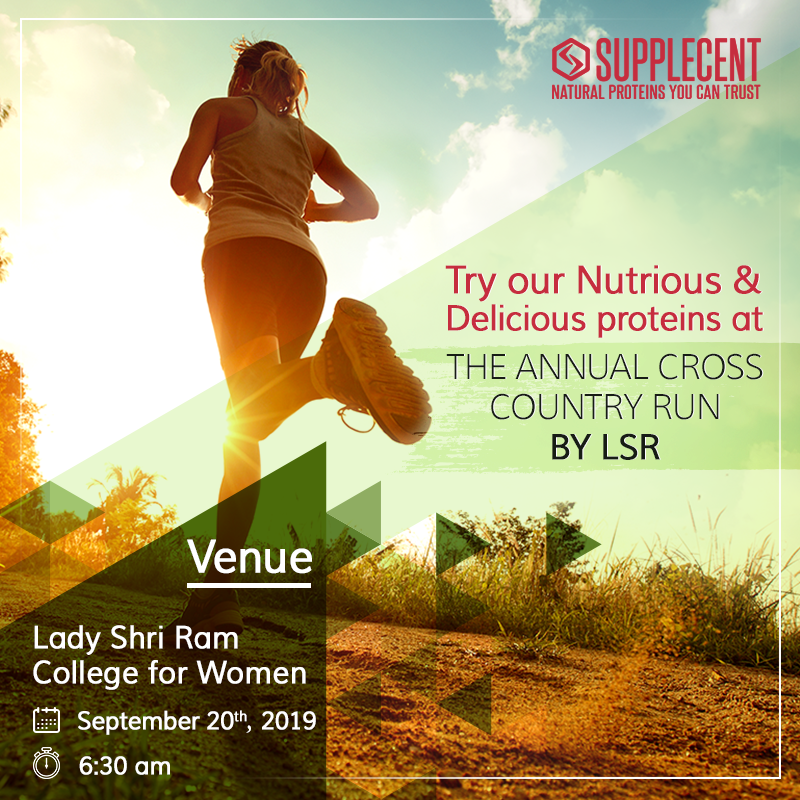 Supplecent is proud to be the nutrition partner for their Annual Cross Country Run. Happy to support budding Indian sportspersons. Come meet us there and try the best natural proteins for Indians. #Supplecent #SwitchToSupplecent #CrossCountryRun #NoSteroids # #fitpic.twitter.com/b5AGdYUOEC