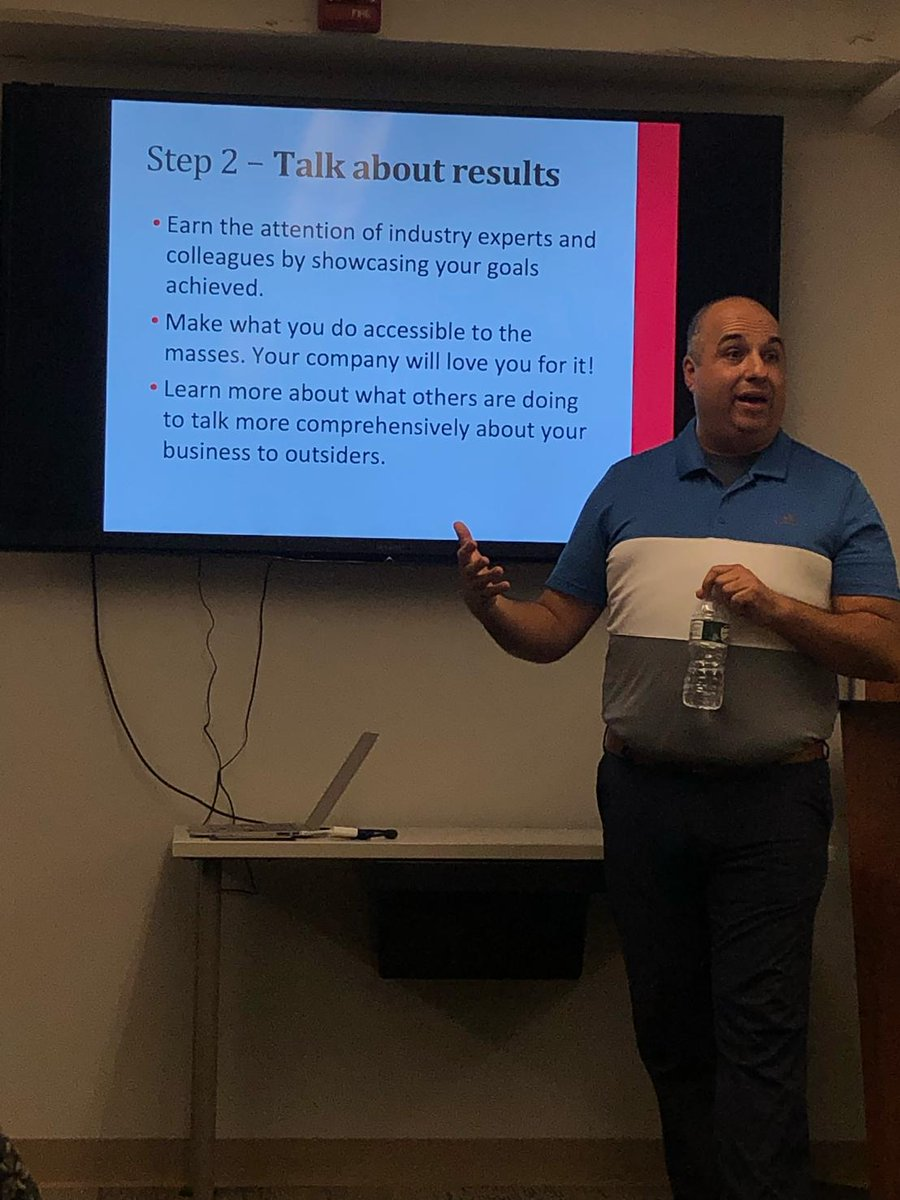 Thank you to our partners at @downtownSYR Committee for having us present at the Downtown Employee Appreciation Week at their headquarters. Two more days of programming to go. Be sure to check the calendar. #DowntownSyracuse #CoachSgro #SelfPromotion<br>http://pic.twitter.com/h1vDyxfzOI