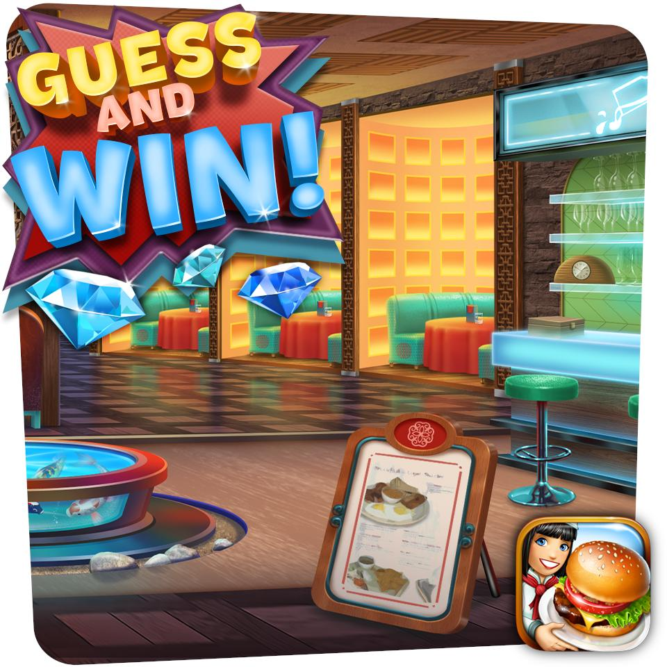 Here are some more details on our new upcoming restaurant!   Guess the name of the new restaurant and get a chance to win 500 gems!   One winner will be drawn from answers that will come the closest. We'll announce the winner and reveal the restaurant very soon! https://t.co/W0ThJXSRJK