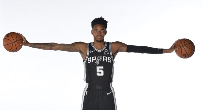 Join us in wishing @DejounteMurray of the @spurs a HAPPY 23rd BIRTHDAY! #NBABDAY