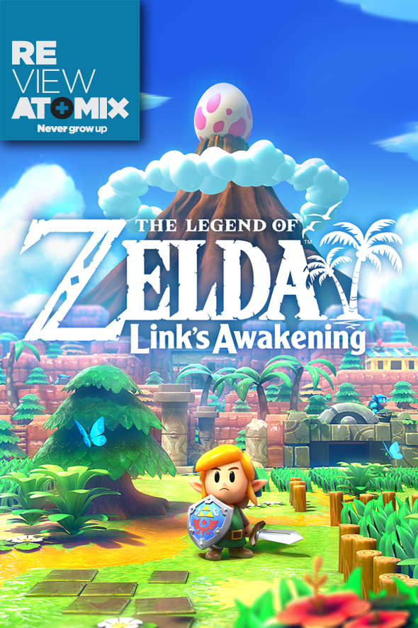 #AtomixReview The Legend of Zelda: Link's Awakening está de regreso en toda su gloria con un fabuloso remake para Switch que te sacará una lágrima.