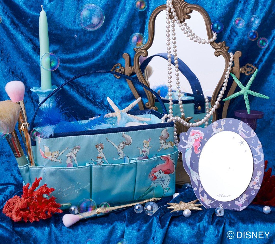 Cocoonist(コクーニスト)ディズニー『リトル・マーメイド』ファッショングッズアリエル7姉妹のコレクション第2弾!10月3日より発売☆詳細→
