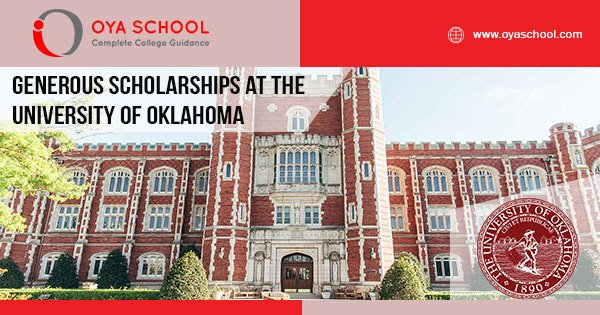 Generous Scholarships at the University of Oklahoma || Follow us for college guidance || #collegeapplication #studyinusa #oyaschool #uscollege #usscholarships #collegeessay #gpa #ungraduate #financialaid #SAT #IELTS #ACT #TOEFL… https://oyaschool.com/generous-scholarships-at-the-university-of-oklahoma/…