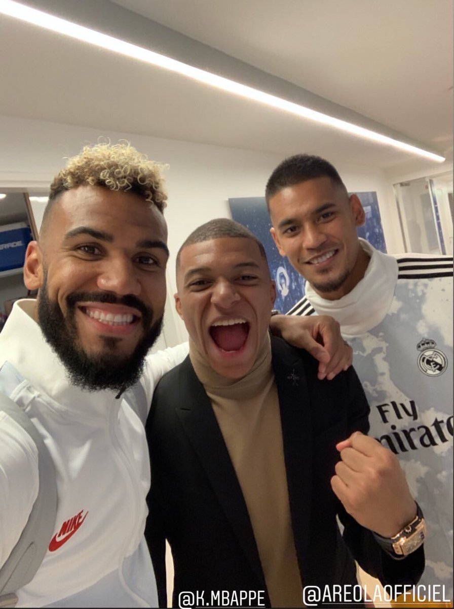 Areola Mbappé Choupo Moting