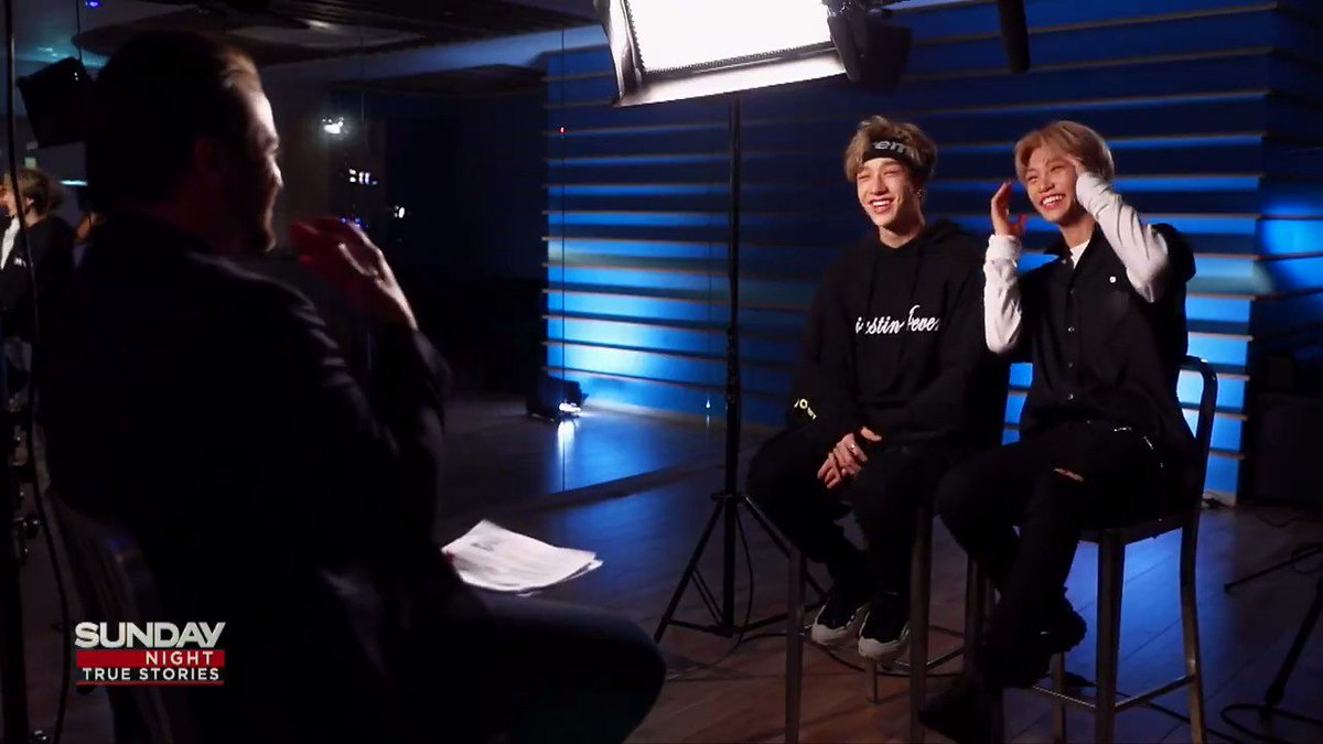 Everything sounds cooler in #Korean - even talking about breakfast! This week on @SundayNightOn7, @Stray_Kids Chan and Felix show off their multilingual skills - this Sunday at 9pm on @Channel7. #KPop