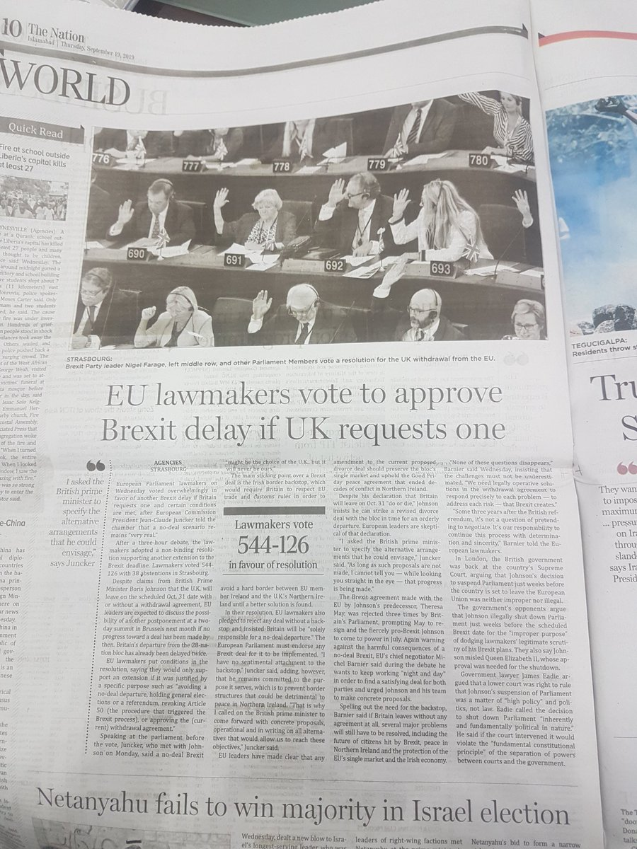 This Brexit tale is 🤦♀️