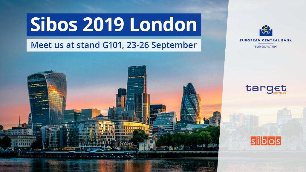 We'll be at the global financial services conference @Sibos, next week, discussing #instantpayments as a driver of innovation in Europe and previewing Europe's new real-time gross settlement service. Follow @TARGET_ECB for the latest updates. Full agenda https://www.ecb.europa.eu/paym/intro/events/html/20190923_sibos.en.html …
