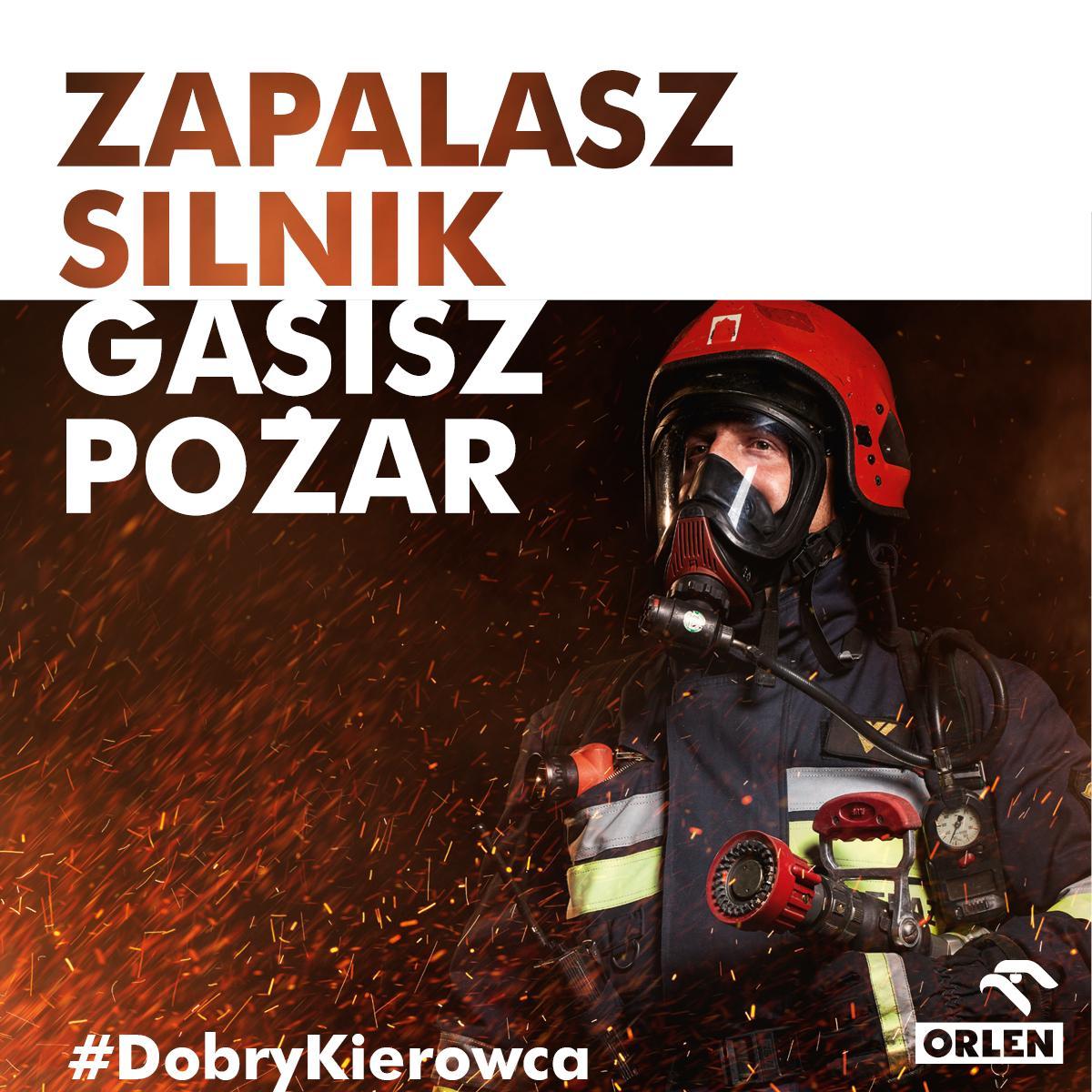 Kupując na stacjach #ORLEN przyłączasz się do akcji #DobryKierowca wspierającej program ORLEN dla Strażaków👍 Inicjatywa kierowana do jednostek Państwowej i Ochotniczej Straży Pożarnej finansuje zakup sprzętu do walki z pożarami i klęskami żywiołowymi 👉 http://dobrykierowca.orlen.pl