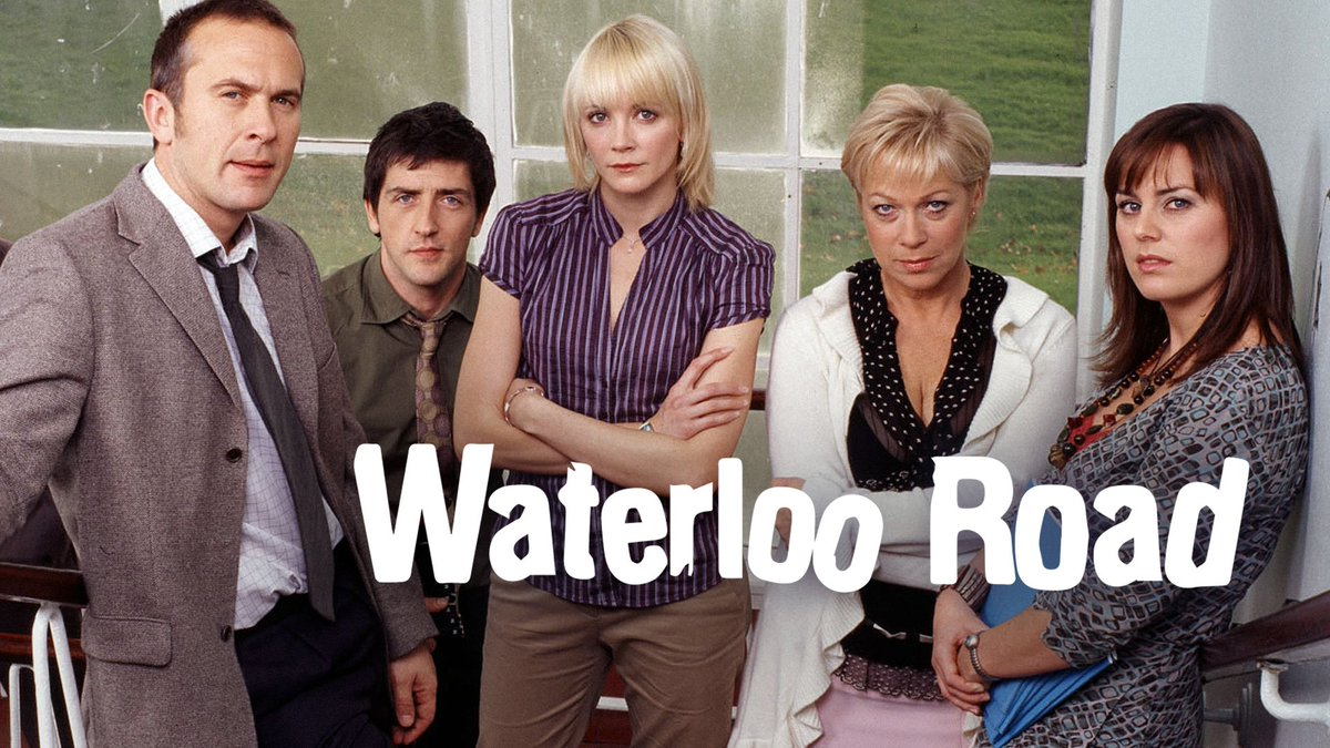 You're not the only ones going back to school this September... 👩🏫👨🏫 Every episode of Waterloo Road is now available on @BBCiPlayer!http://bbc.in/2ktLW6i