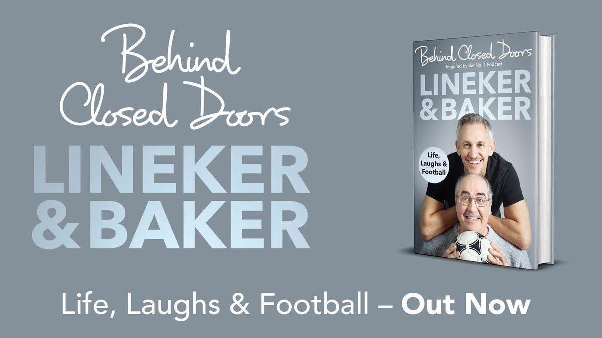 The book around the podcast with me and @prodnose is out today and you can get a signed copy, should you like signed copies, from @WHSmith: bit.ly/BehindClosedDo…