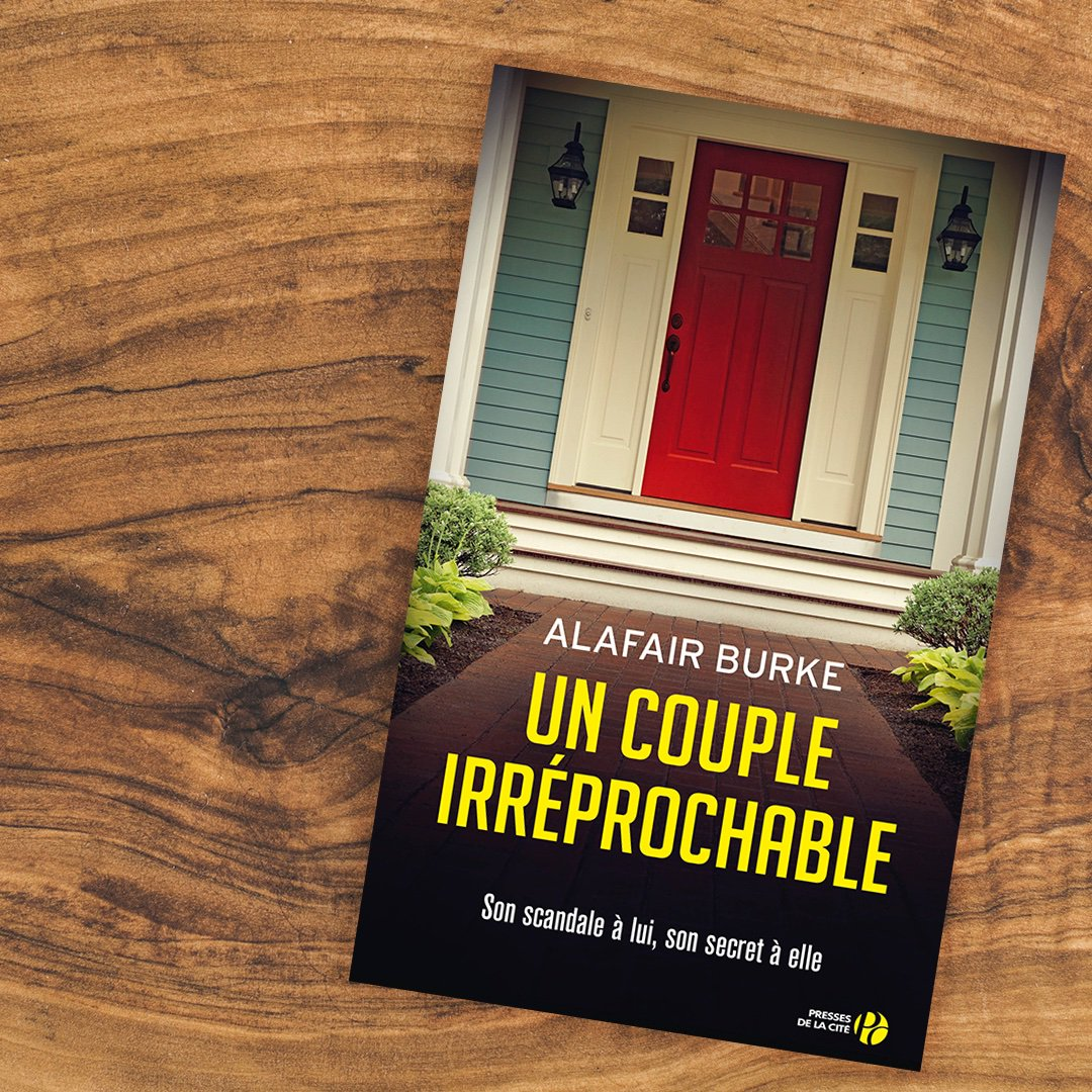 Un Couple Irreprochable (US title: The Wife) is out in France today.  Thank you @PressesdelaCite!