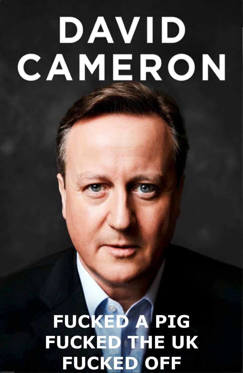David Cameron's book is out today. Seems like it's had a last minute title change though.