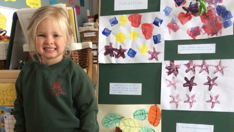 Our @awjsearlyyears Twitter account is up and running again. Follow them to see the amazing practice that goes on in our Nursery. The smile in this post says it all! #CognitaWay