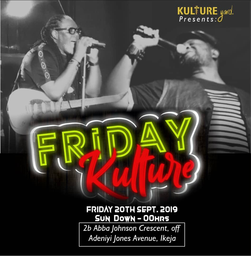 Rain or shine, KULTURE is KULTURE!Make it a dateAnd don't be late.