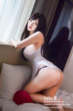 コスプレイヤーKaYa HuangのTwitter自撮りエロ画像52