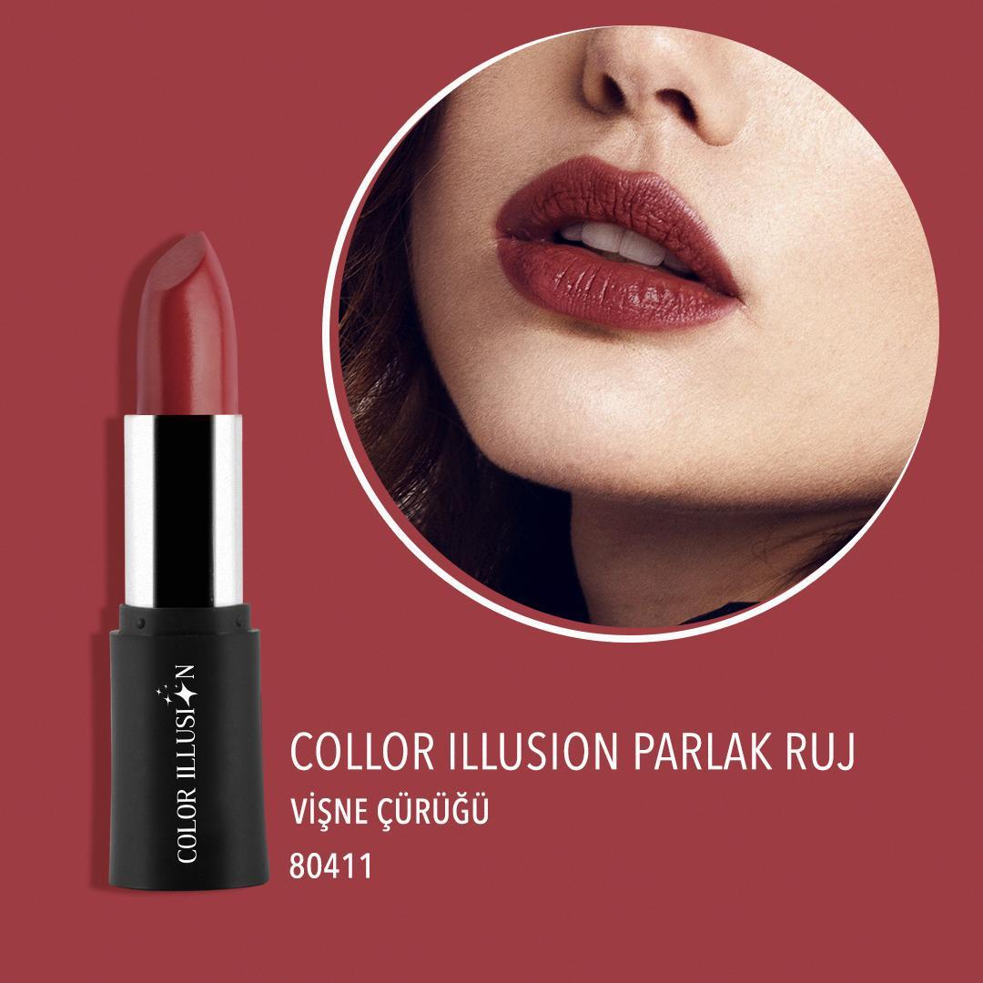 Tüm gün kalıcı ve çarpıcı dudaklar için ihtiyacın olan tek şey: Color Illusion Parlak Ruj. 💄💋